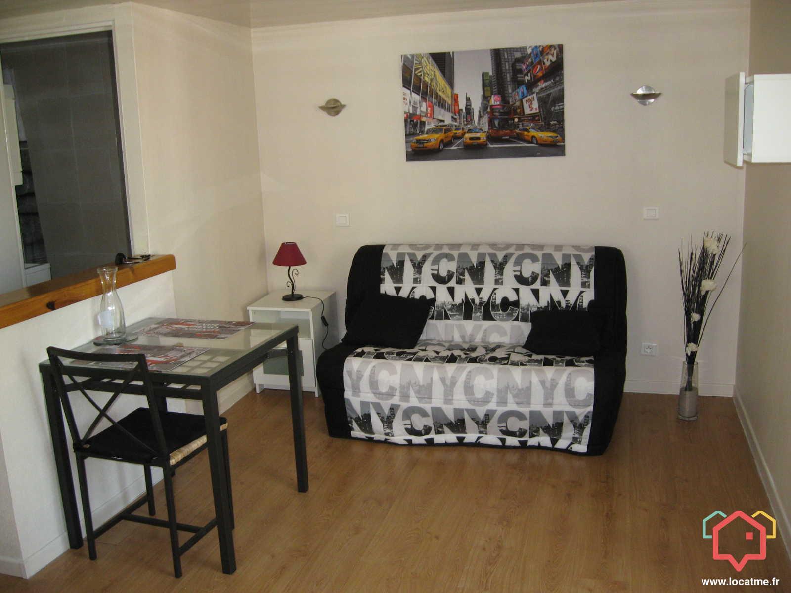 Appartement Meublé à Clermont Ferrand De 25m2
