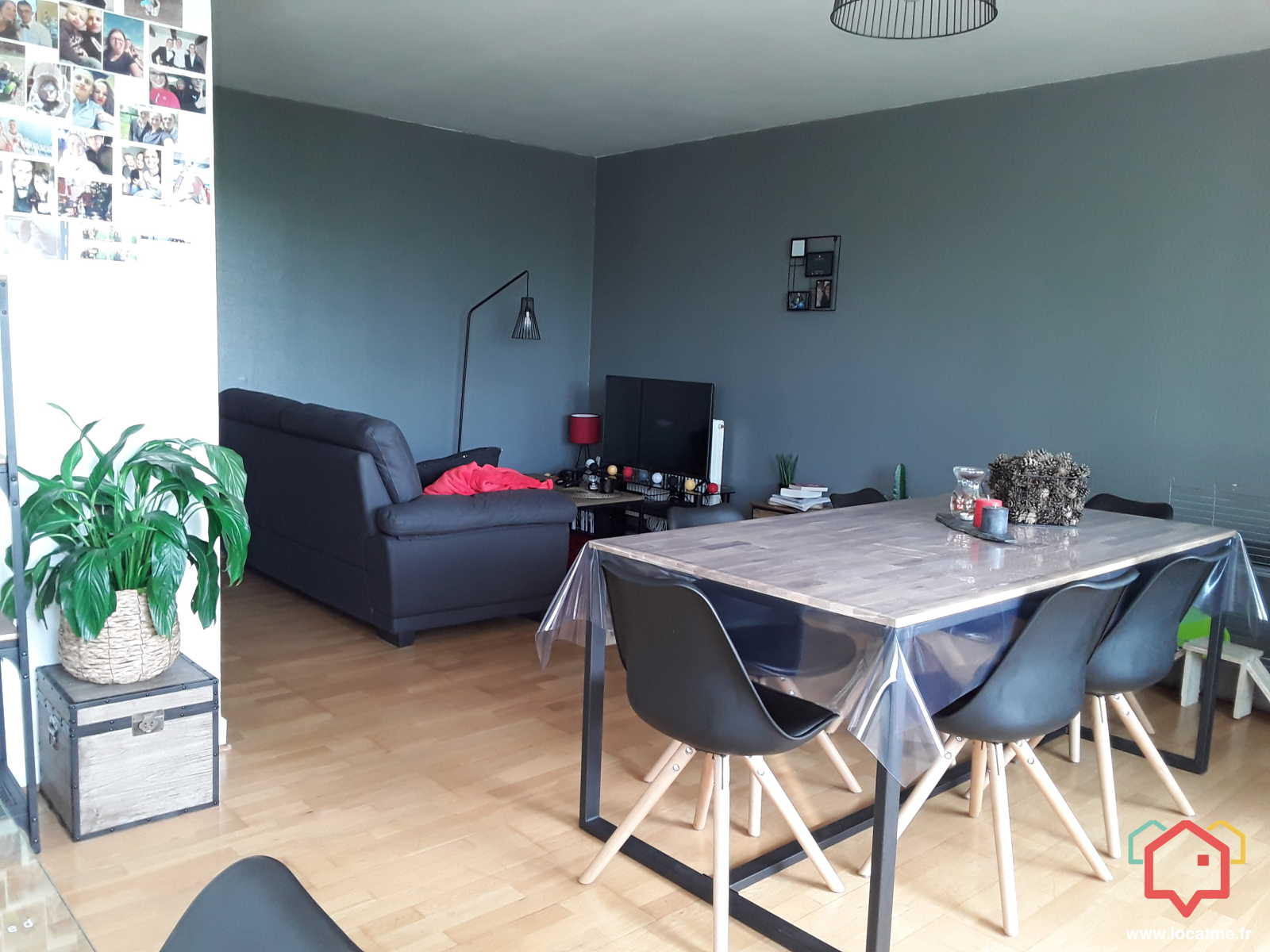 Location Appartement Non Meublé 60m2 à Bonsecours